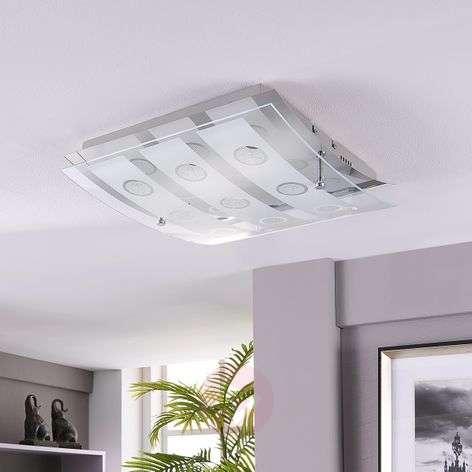 Yhdeksänlamppuinen Joicy LED-kattovalaisin