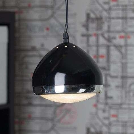 Yksilamppuinen RIDER-riippuvalaisin, musta-1507176-31
