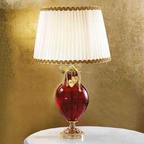 Ylellinen pöytävalaisin Ella Murano-lasia