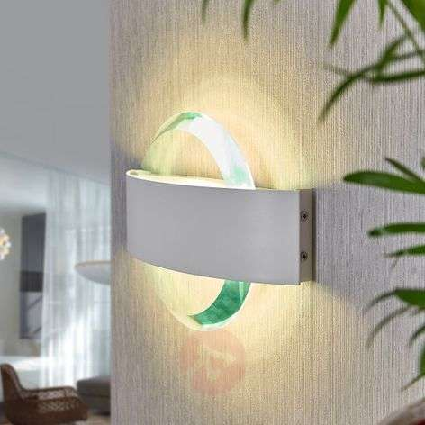 Yola – LED-seinävalaisin kromikoristein