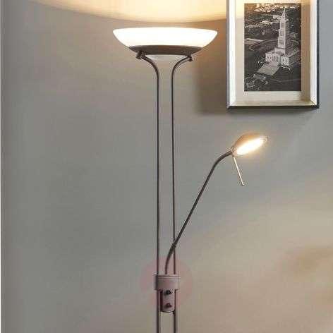 Yveta ruosteenvärinen LED-lattiavalaisin, himmen-9620912-37