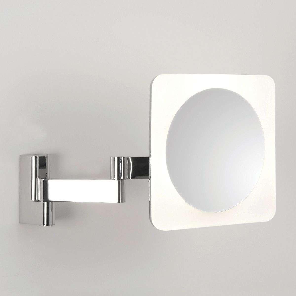 5-kertaisesti suurentava LED-peili Niimi Square-1020377-33