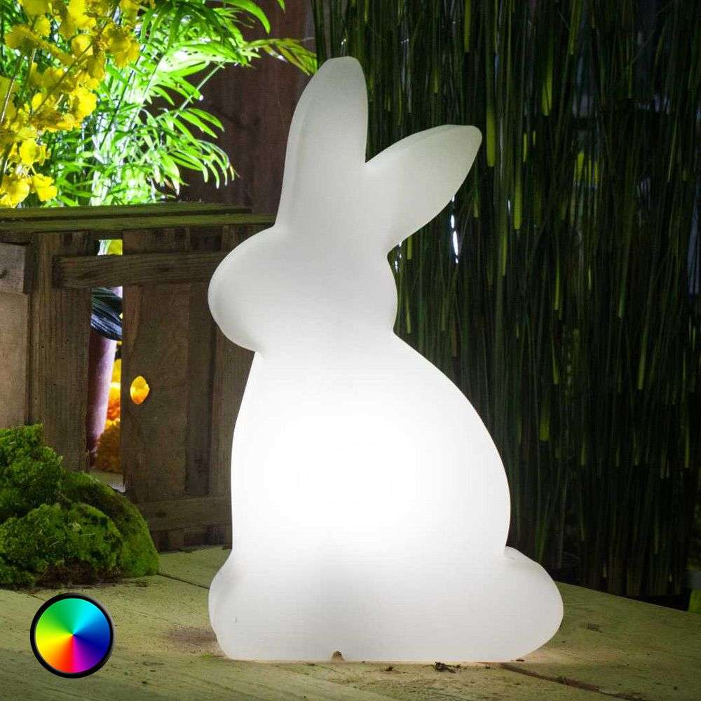 LED-koristevalaisin Shining Rabbit, 50 cm-1004079-32