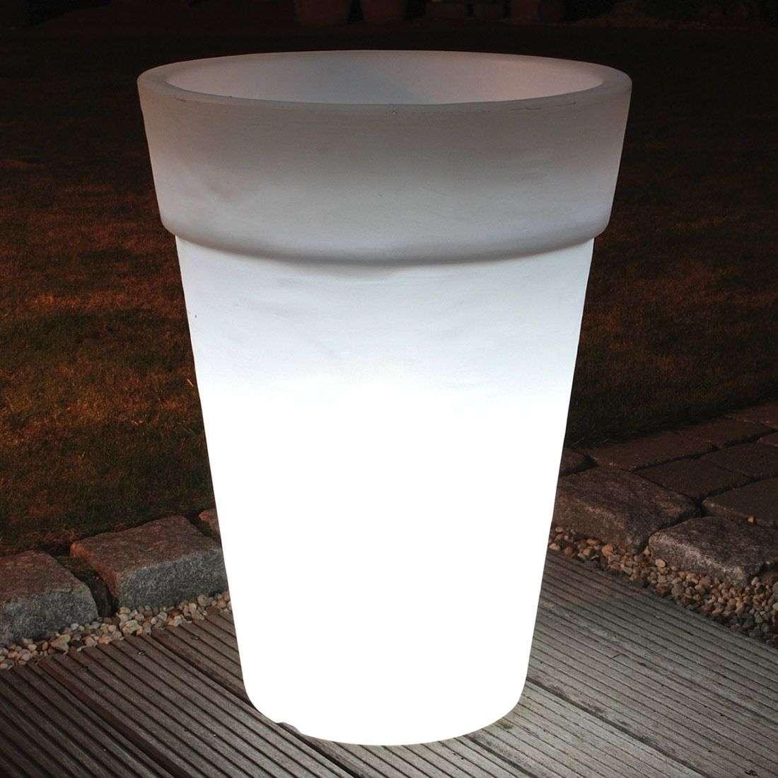 Pyöreä SHINING POT-ruukku, korkeus 68 cm-1004022-31