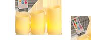 LED kynttilät